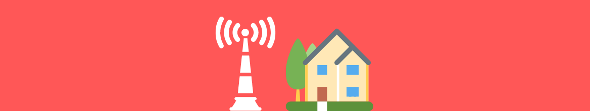 How can I improve the mobile coverage in my house?