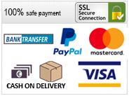 100% safe payment